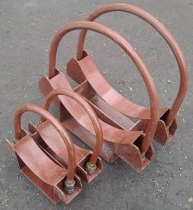 Скользящие опоры трубопровода 001. Мадис. Металлообработка на заказ по чертежам заказчика.