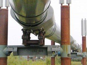 Скользящие опоры трубопровода 002. Мадис. Металлообработка на заказ по чертежам заказчика.