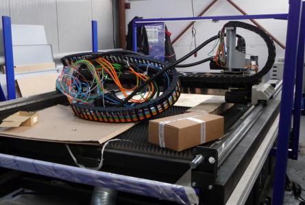 Новый лазерный станок ЛК-3015. Мадис. Металлообработка на заказ по чертежам заказчика.