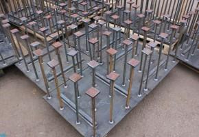 Установка закладных деталей в бетон. Мадис. Металлообработка на заказ по чертежам заказчика.