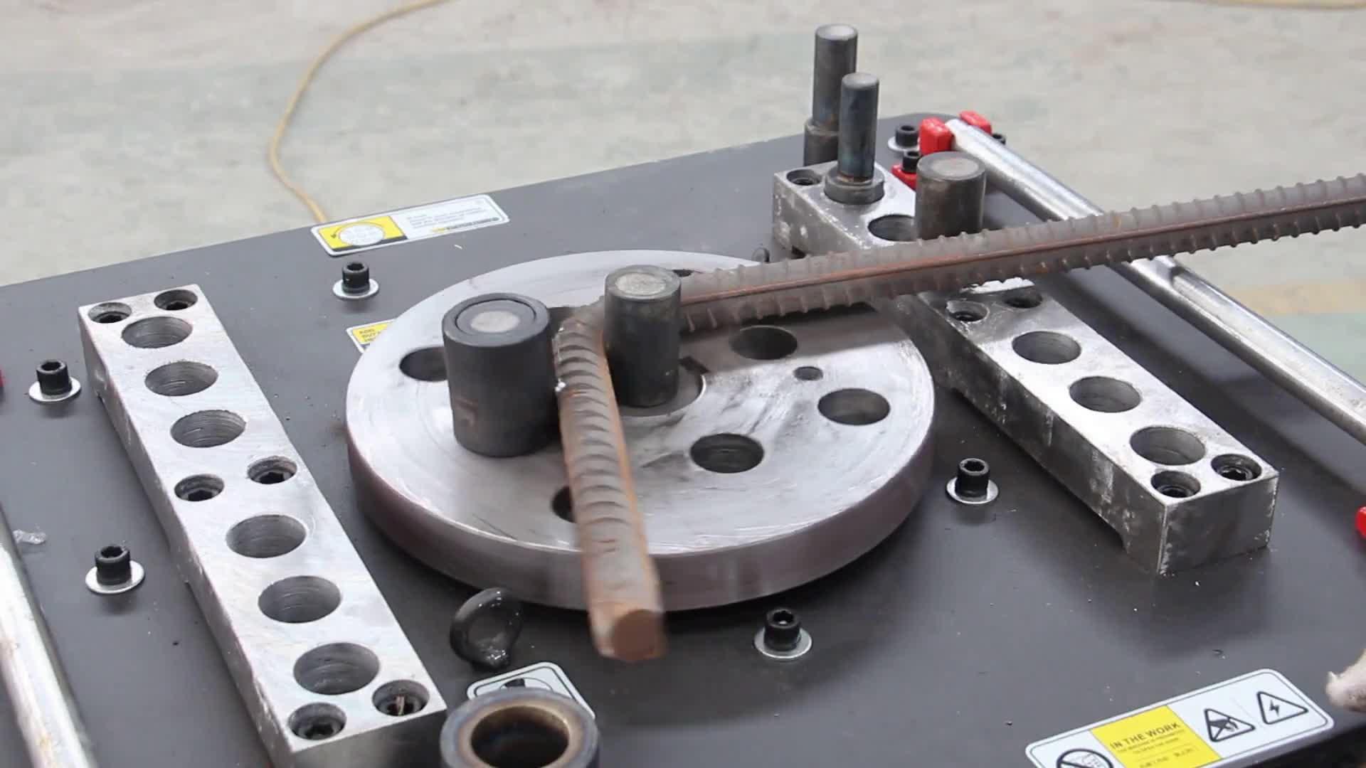Станок для гибки тяжёлой стальной арматуры